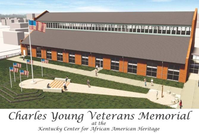 The Charles Young Veterans Memorial